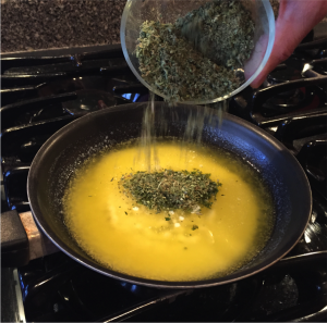 How to Make Cannabutter Adding-Weed-300x297